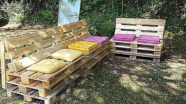 16 ideja za jeftin namještaj (čak i besplatne) s drvenim paletama.