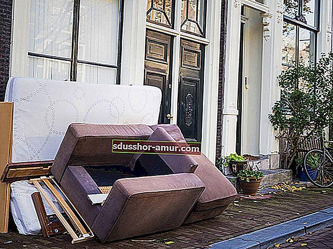 Glomazno uklanjanje predmeta: Besplatno je u Parizu.
