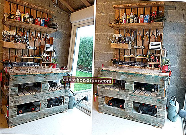 25 Легко сделать мебель из деревянных поддонов.