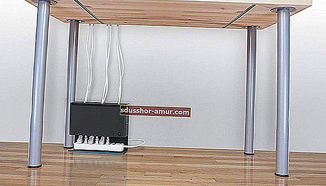 Гениальное хранилище для компьютерных кабелей.