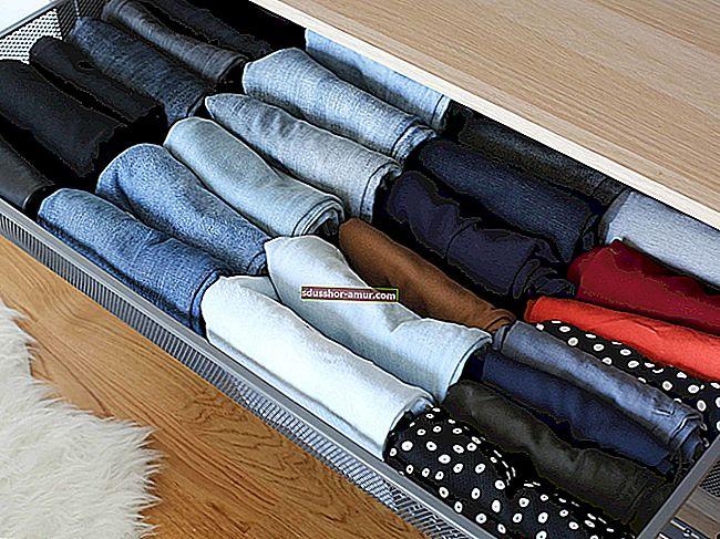 Хранение: как сложить одежду по методу Мари Кондо?