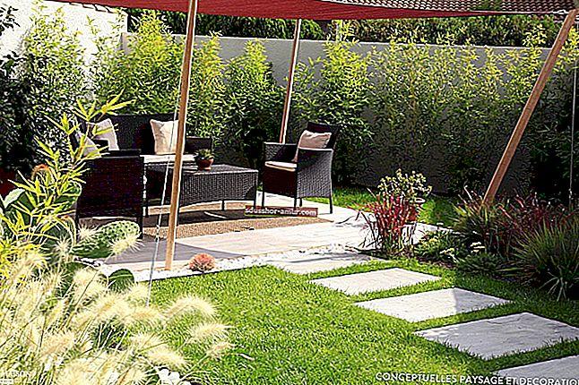 11 отличных идей для украшения вашего сада (дешево и просто).