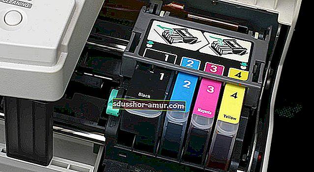Чернильный картридж: используйте черновой режим принтера, чтобы сэкономить деньги.