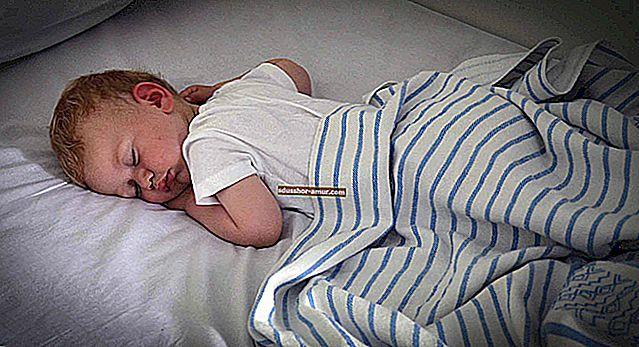 U koje vrijeme vaše dijete treba ići u krevet? Praktični vodič PREMA DOBI.