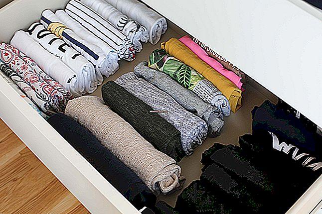 5 čarobnih trikova kako biste presavili svu odjeću poput Marie Kondo.