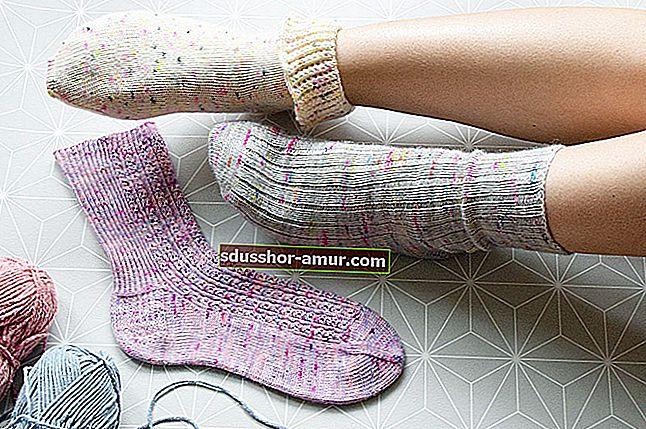 Uradi sam: neklizajuće čarape za vašu djecu.