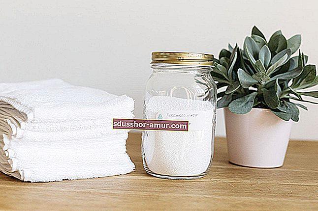 Чудодейният продукт за отделяне на бяло пране.