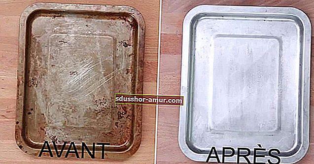 4 spektakularna savjeta za čišćenje vrlo (vrlo) prljavih ploča pećnice.
