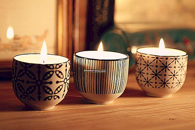 Domaći recept za izradu prirodnih mirisnih svijeća.