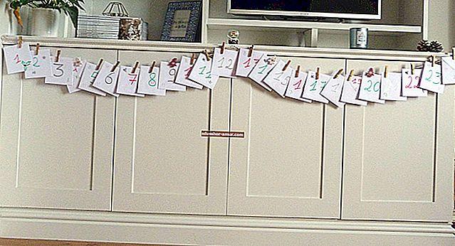 Гениальный трюк, чтобы сделать самодельный календарь.