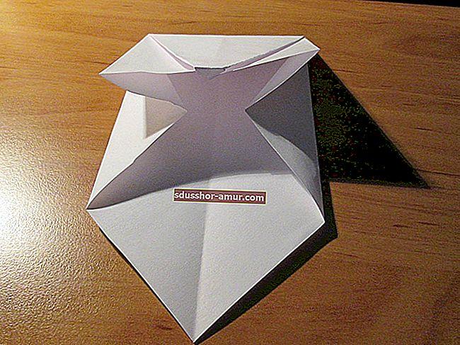 Как легко сделать конверт для оригами.