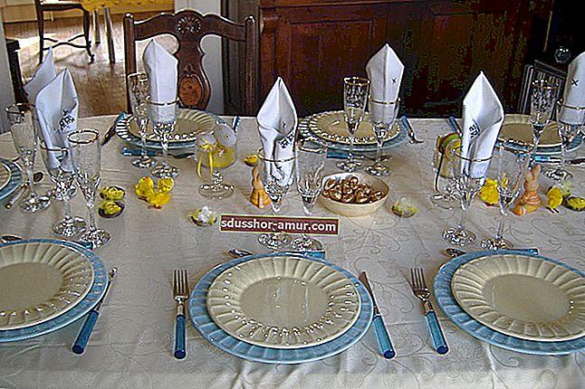 Как накрыть красивый стол к обеду? ЛЕГКОЕ руководство в картинках.