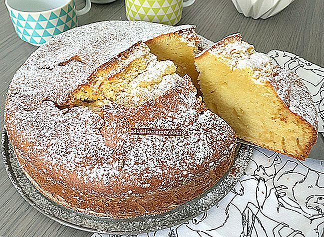 Обикновената торта на БАБОТА на моята баба (лесна и мека).