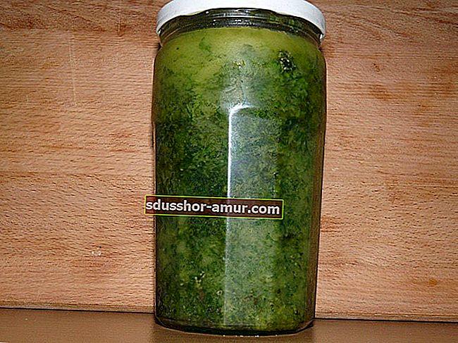 Хранение свежей петрушки: 2 совета по удобному хранению.