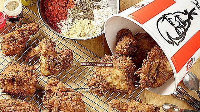 Наконец-то раскрыт секретный рецепт курицы KFC!