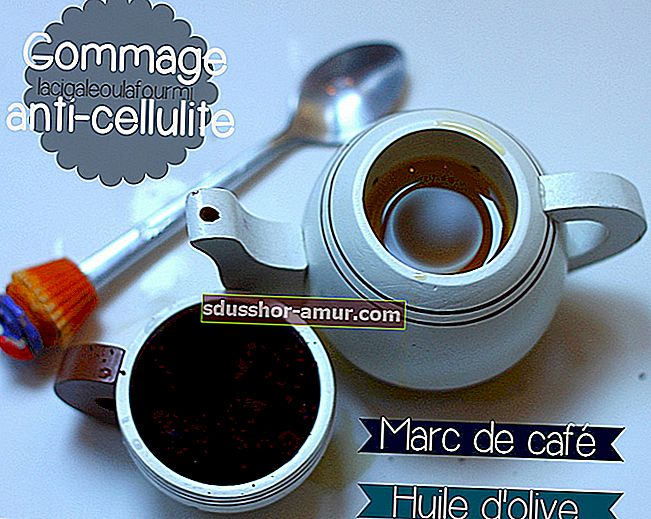 Le Marc de Café, učinkovito i besplatno anticelulitno sredstvo.