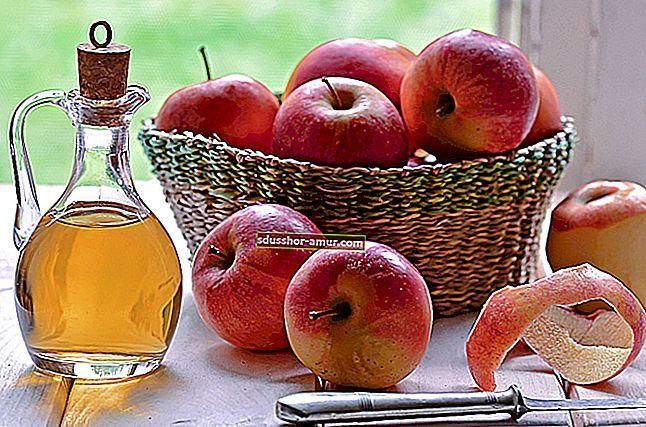 Теги кожи: Как избавиться от них с помощью яблочного уксуса.