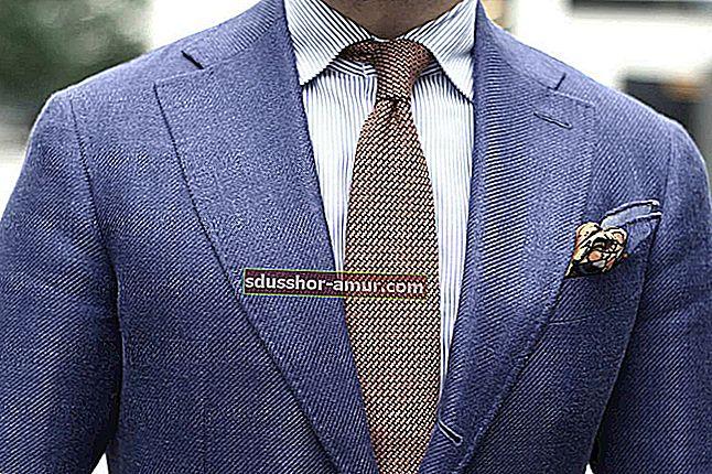 Уловка завязывания галстука каждый раз.