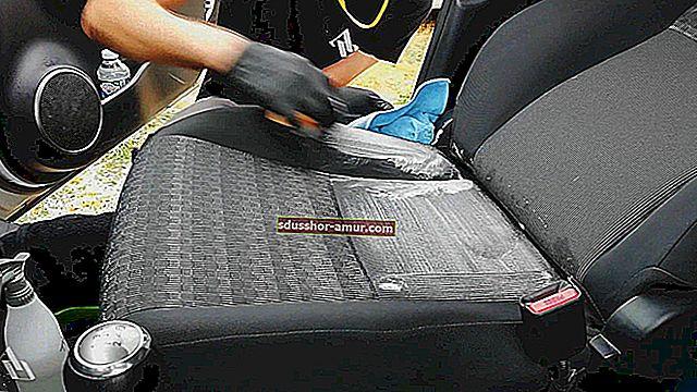 Как ЛЕГКО почистить автомобильные сиденья.
