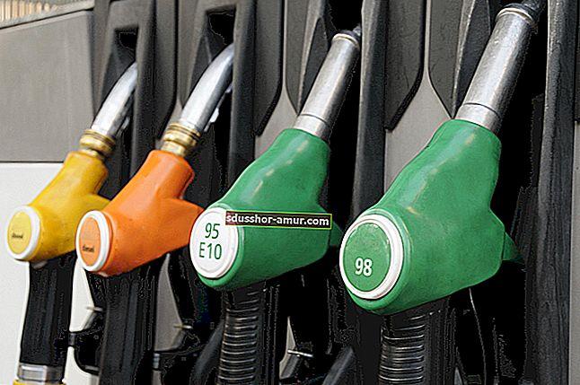 Kako znati koja je strana automobila rezervoar za benzin.
